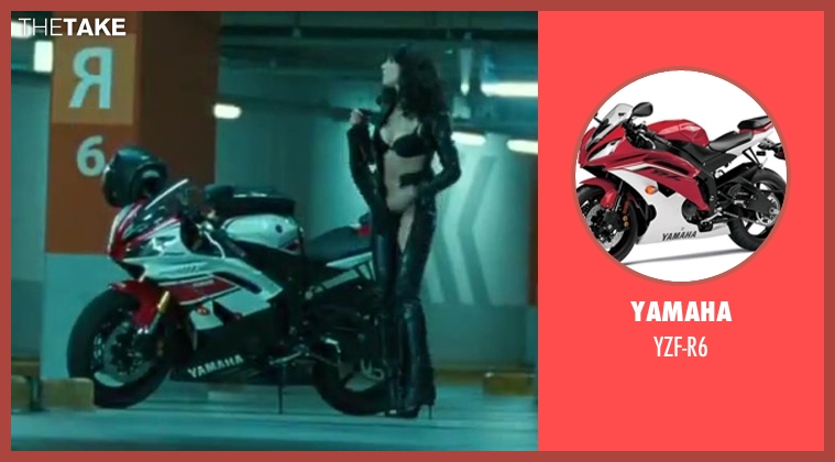 Yamaha yzf-r6 from A Good Day to Die Hard seen with Yuliya Snigir (Irina)