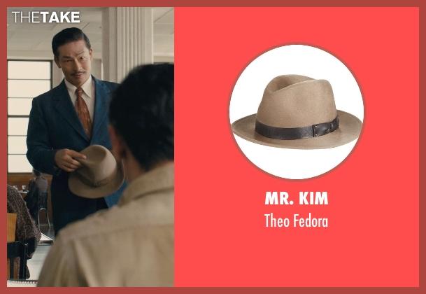 Mr. Kim brown fedora from Unbroken seen with Yutaka Izumihara (Radio Tokyo Man)