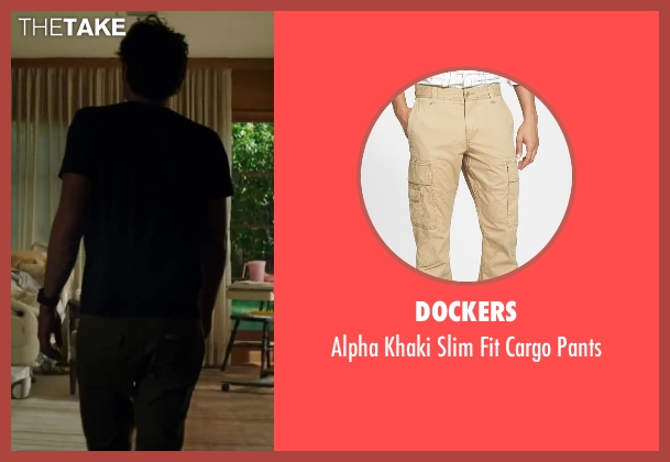 Dockers beige pants from Wish I Was Here seen with Zach Braff (Aidan Bloom)