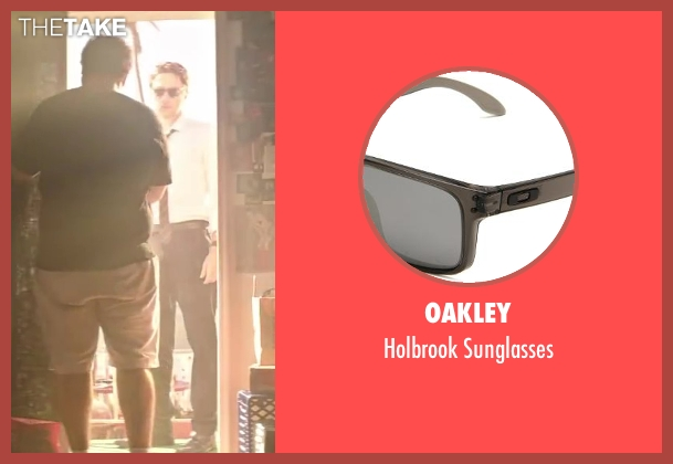 Oakley black sunglasses from Wish I Was Here seen with Zach Braff (Aidan Bloom)