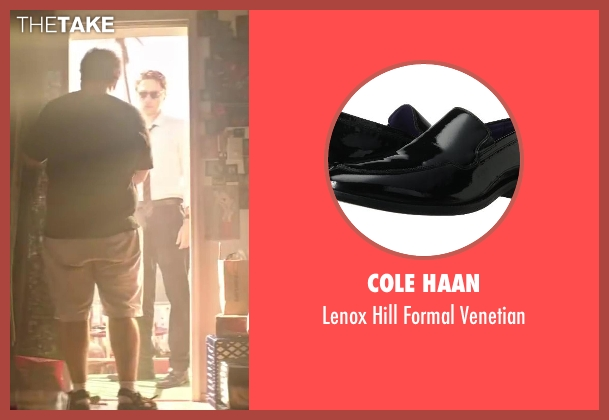 Cole Haan black venetian from Wish I Was Here seen with Zach Braff (Aidan Bloom)