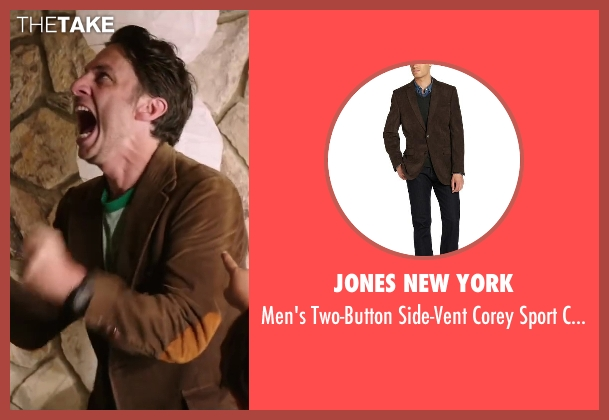 Jones New York brown coat from Wish I Was Here seen with Zach Braff (Aidan Bloom)