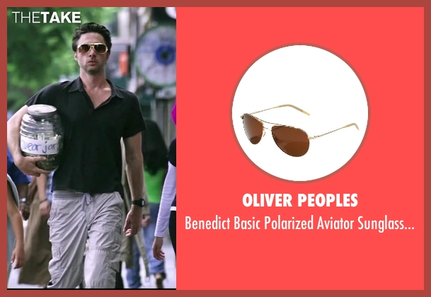 Oliver Peoples brown java from Wish I Was Here seen with Zach Braff (Aidan Bloom)