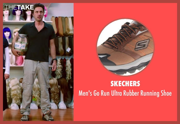 Skechers brown shoe from Wish I Was Here seen with Zach Braff (Aidan Bloom)