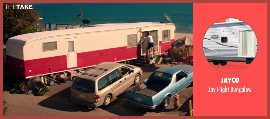 Jayco bungalow from Wish I Was Here seen with Zach Braff (Aidan Bloom)
