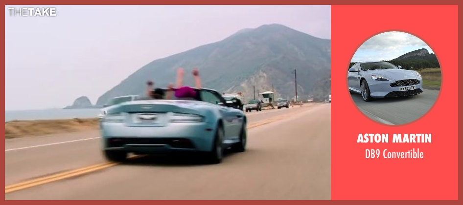 Aston Martin convertible from Wish I Was Here seen with Zach Braff (Aidan Bloom)