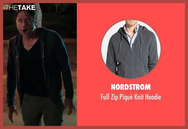 Nordstrom gray hoodie from Wish I Was Here seen with No Actor (Aidan Bloom)