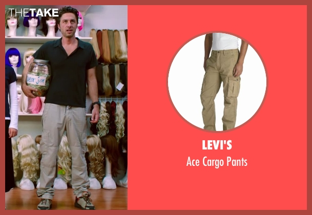 Levi's gray pants from Wish I Was Here seen with Zach Braff (Aidan Bloom)