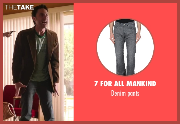 7 FOR ALL MANKIND gray pants from Wish I Was Here seen with Zach Braff (Aidan Bloom)