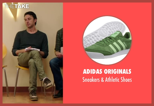 Adidas Originals shoes from Wish I Was Here seen with Zach Braff (Aidan Bloom)