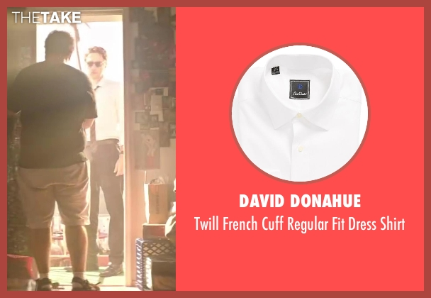 David Donahue white shirt from Wish I Was Here seen with Zach Braff (Aidan Bloom)