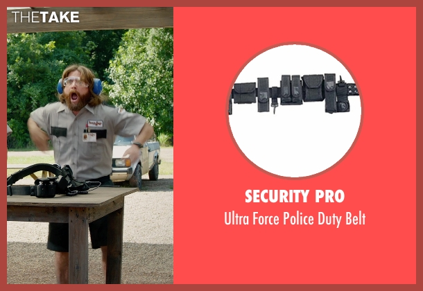 Security Pro belt from Masterminds seen with Zach Galifianakis (David Ghantt)