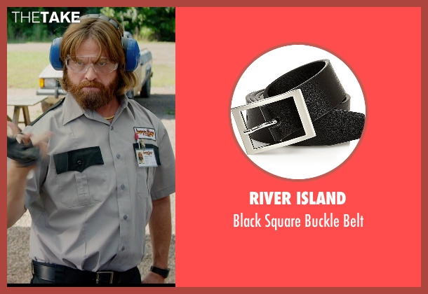 River Island black belt from Masterminds seen with Zach Galifianakis (David Ghantt)