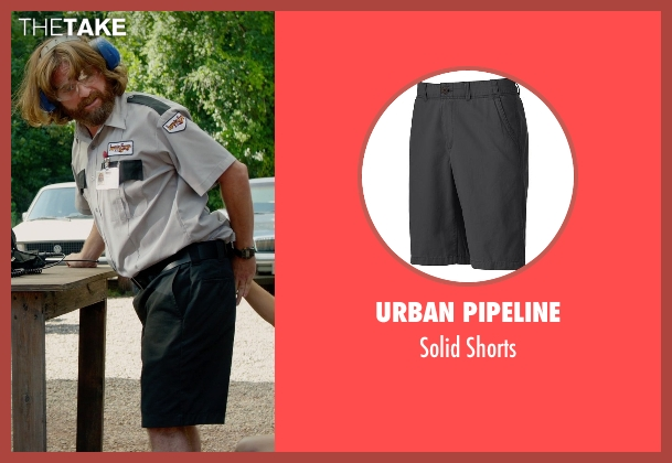 Urban Pipeline black shorts from Masterminds seen with Zach Galifianakis (David Ghantt)