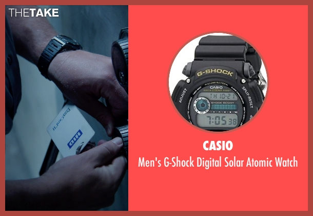 Casio black watch from Masterminds seen with Zach Galifianakis (David Ghantt)