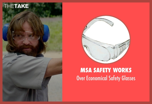 MSA Safety Works glasses from Masterminds seen with Zach Galifianakis (David Ghantt)