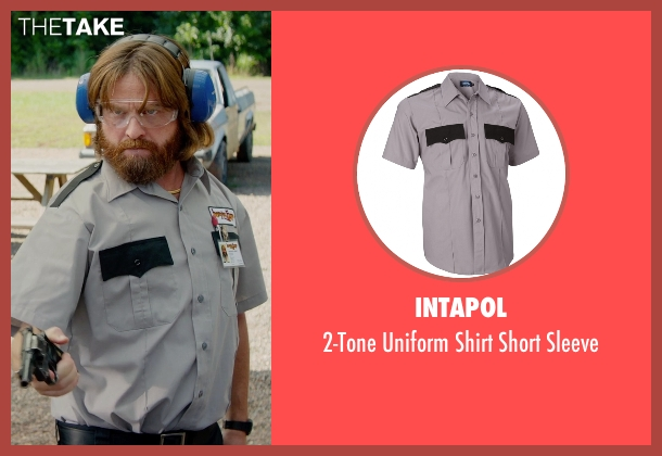 Intapol gray sleeve from Masterminds seen with Zach Galifianakis (David Ghantt)