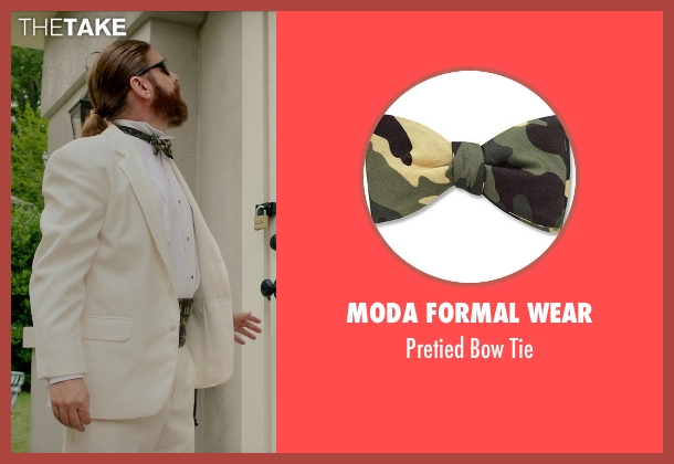 Moda Formal Wear tie from Masterminds seen with Zach Galifianakis (David Ghantt)