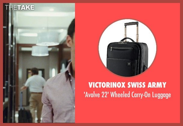 Victorinox Swiss Army black luggage from The Hangover seen with Zach Galifianakis (Alan)