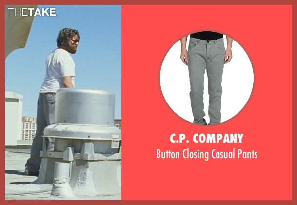 C.P. Company gray pants from The Hangover seen with Zach Galifianakis (Alan)