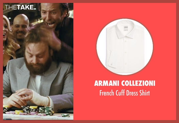 Armani Collezioni  white shirt from The Hangover seen with Zach Galifianakis (Alan)