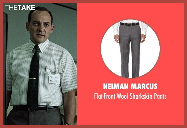 Neiman Marcus gray pants from Fight Club seen with Zach Grenier (Richard Chesler)