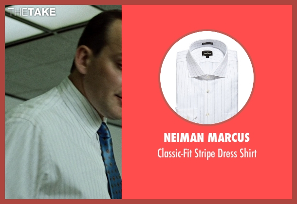 Neiman Marcus white shirt from Fight Club seen with Zach Grenier (Richard Chesler)