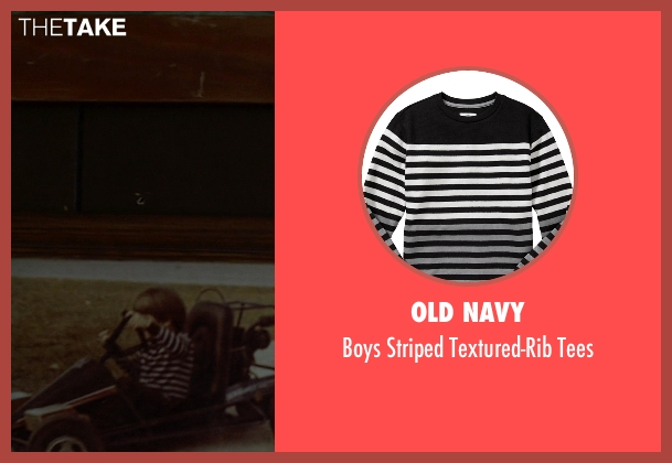 Old Navy black tees from Need for Speed seen with Zach Shirey (Young Tobey Marshall)
