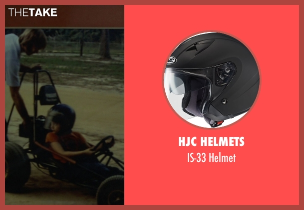 HJC Helmets helmet from Need for Speed seen with Zach Shirey (Young Tobey Marshall)
