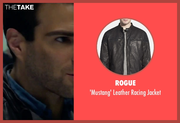 Rogue black jacket from Hitman: Agent 47 seen with Zachary Quinto (John Smith)