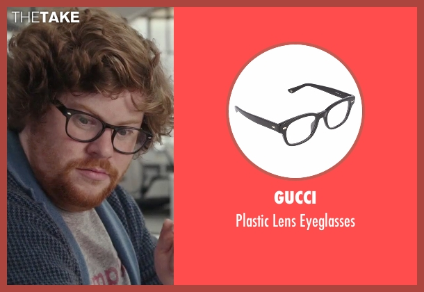 Gucci black eyeglasses from The Intern seen with Zack Pearlman (Unknown Character)