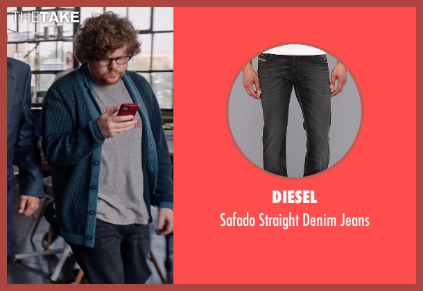 Diesel black jeans from The Intern seen with Zack Pearlman (Unknown Character)