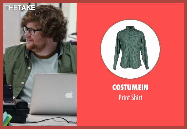 Costumein green shirt from The Intern seen with Zack Pearlman (Unknown Character)