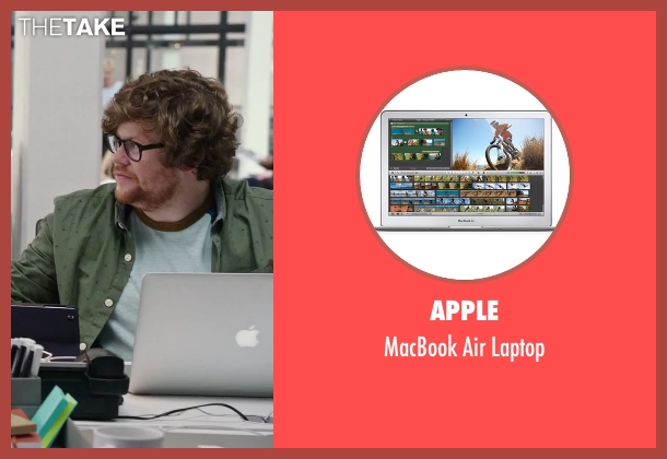 Apple laptop from The Intern seen with Zack Pearlman (Unknown Character)