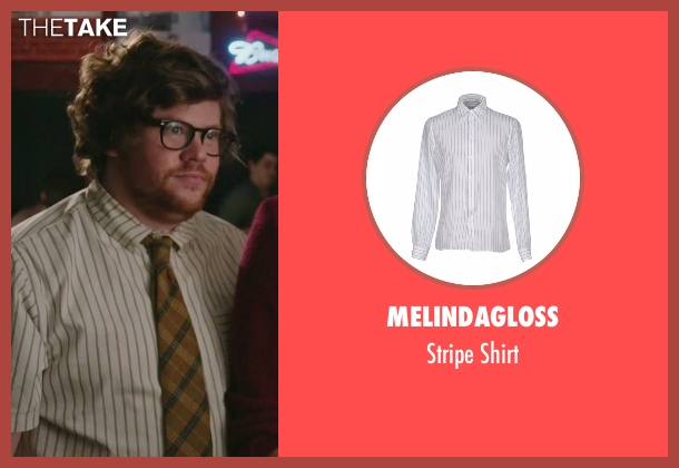 Melindagloss white shirt from The Intern seen with Zack Pearlman (Unknown Character)