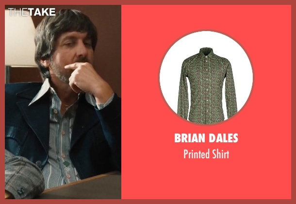 Brian Dales green shirt from Vinyl seen with Zak Yankovich (Ray Romano)