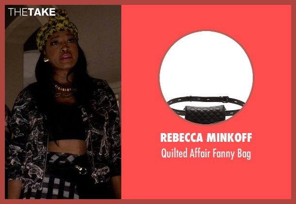 Rebecca Minkoff black bag from Scream Queens seen with Zayday Williams (Keke Palmer)