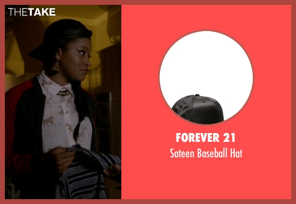 Forever 21 black hat from Scream Queens seen with Zayday Williams (Keke Palmer)
