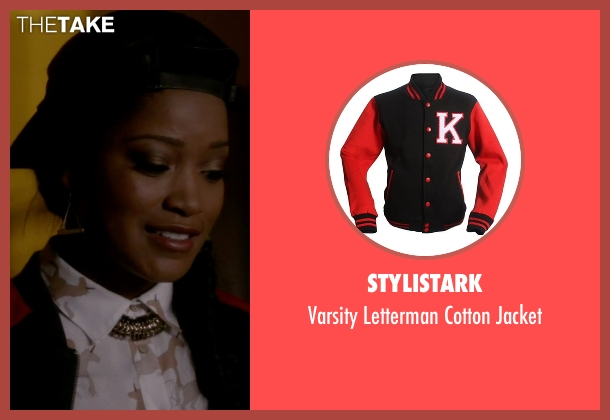 Stylistark black jacket from Scream Queens seen with Zayday Williams (Keke Palmer)