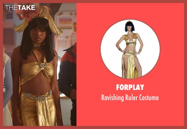 Forplay costume from Scream Queens seen with Zayday Williams (Keke Palmer)