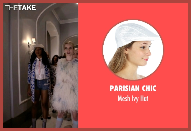 Parisian Chic hat from Scream Queens seen with Zayday Williams (Keke Palmer)