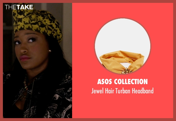Asos Collection headband from Scream Queens seen with Zayday Williams (Keke Palmer)
