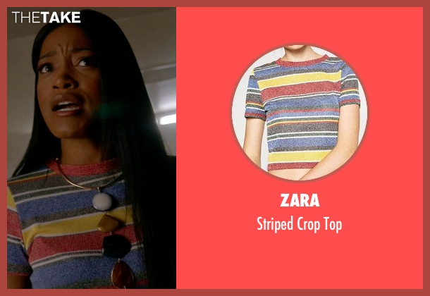 Zara top from Scream Queens seen with Zayday Williams (Keke Palmer)