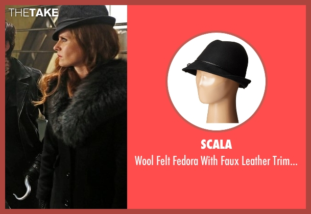 Scala  black bow from Once Upon a Time seen with Zelena (Rebecca Mader)