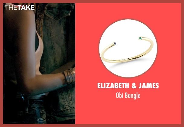 Elizabeth & James bangle from Dope seen with Zoë Kravitz (Nakia)