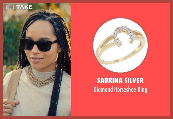 Sabrina Silver ring from Dope seen with Zoë Kravitz (Nakia)