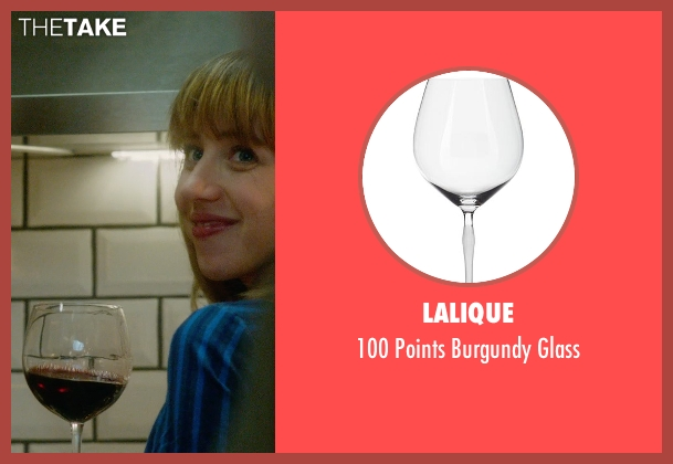 Lalique glass from What If seen with Zoe Kazan (Chantry)