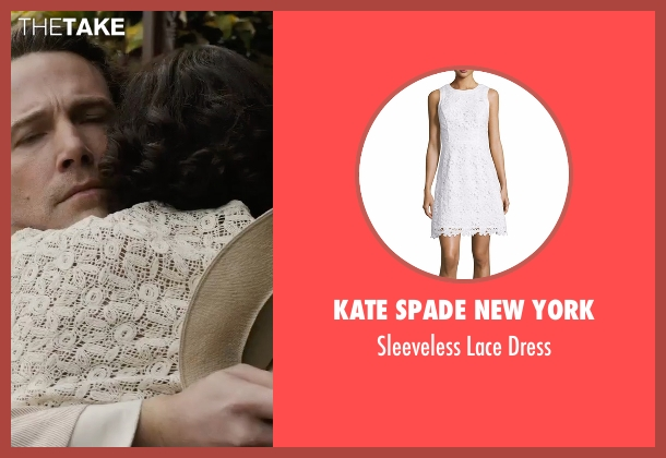 Kate Spade New York white dress from Live By Night seen with Zoe Saldana (Graciella Suarez)