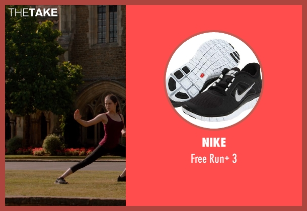 Nike black 3 from Vampire Academy seen with Zoey Deutch (Rose Hathaway)