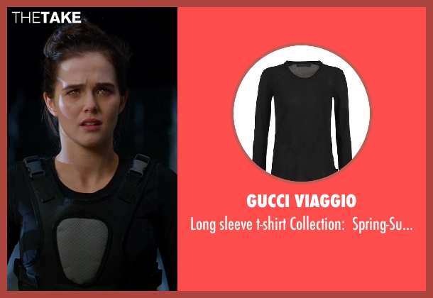 GUCCI VIAGGIO black spring-summer from Vampire Academy seen with Zoey Deutch (Rose Hathaway)